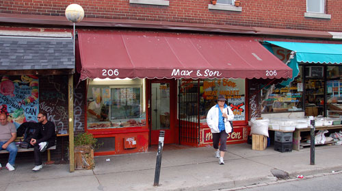 Max & Son Meat Market in Kensington Market