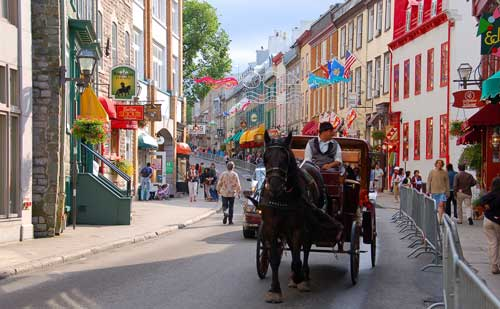 Quebec City In Summer And Winter Canadian Roadstories