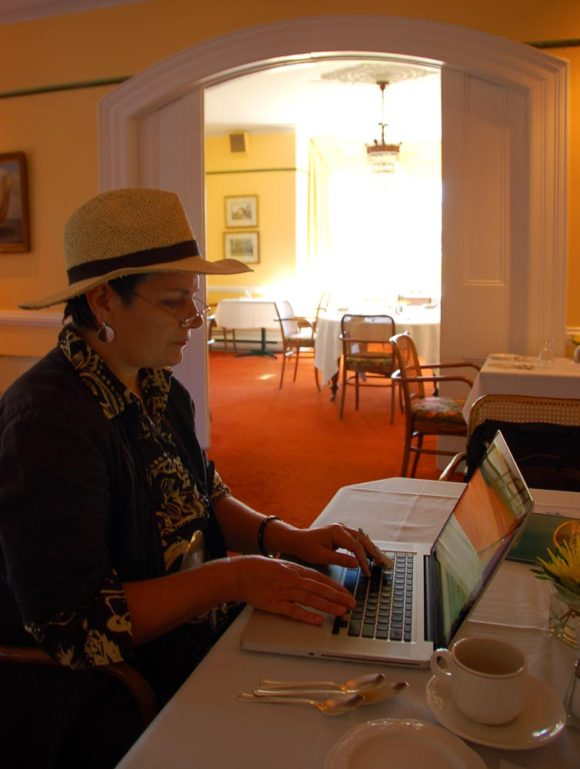 blogging at the Briars