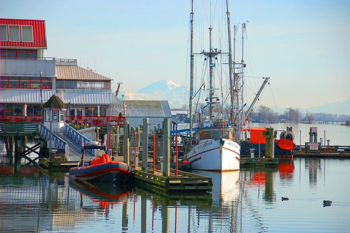 Canadian Roadstories Steveston Historic Fishing Village