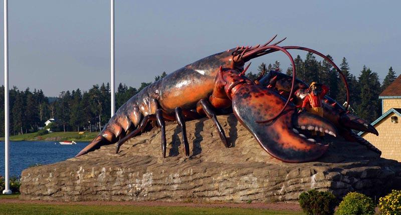 Shediac, New Brunswick, lobster capital of the world