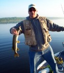 Pete with a Northern Pike