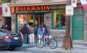Front door of Bairrada Grillhouse