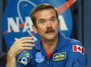 Chris Hadfield, Canadian astronaut