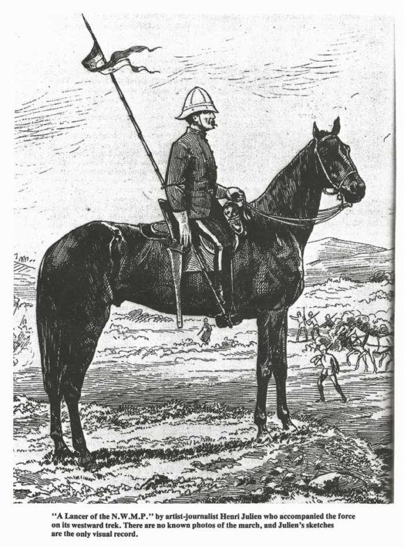Lancer-of-the-NWMP-by-Henri-Julien