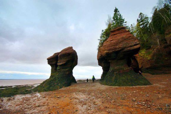 Hopewell Rocks New Brunswick