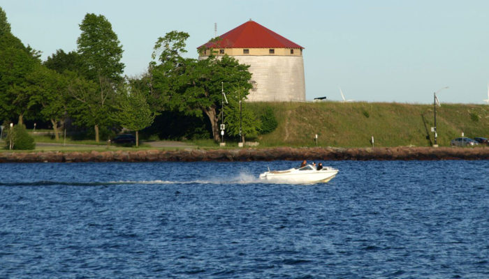 Kingston Ontario boat