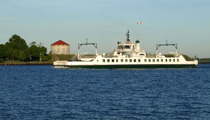 Kingston Ontario ferry