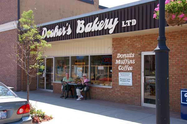 Dooher's Bakery in Campbellford, Ontario