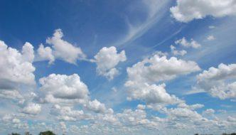 Big Sky in southeastern Alberta