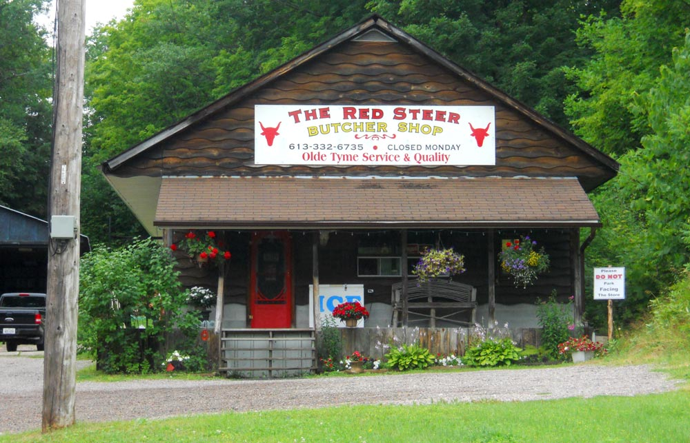 Red Steer Butcher shop