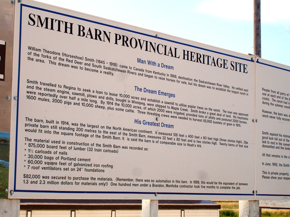 Smith Barn Information