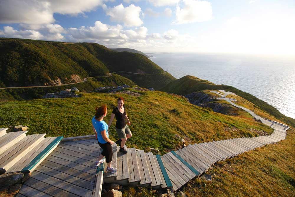 Cabot Trail Nova Scotia on World Map Activity