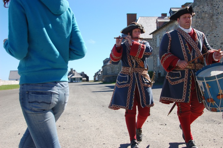 fife and drum at the Fortress of Louisbourg