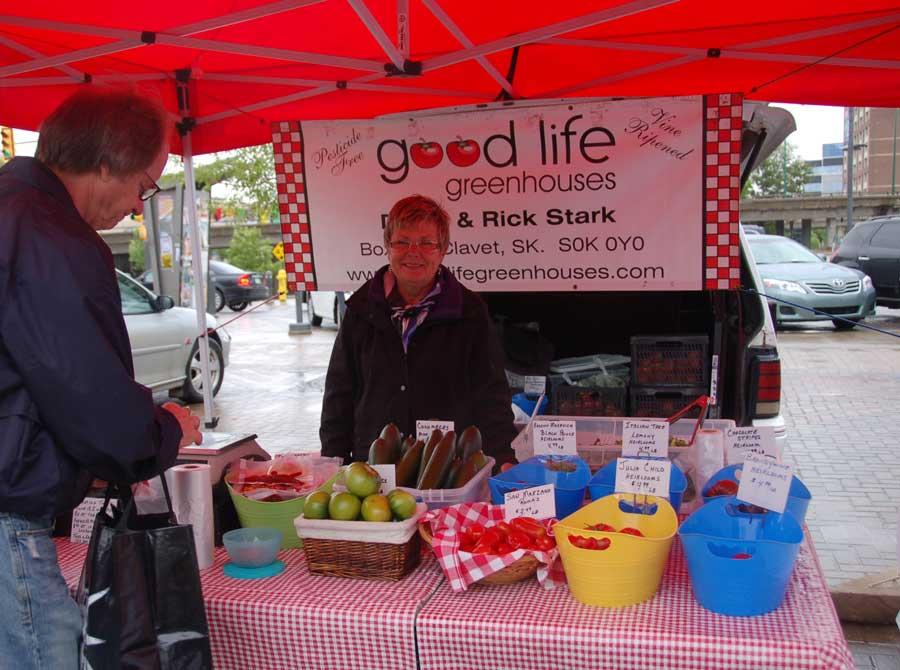 Saskatoon Farmers Market Canadian food