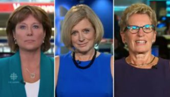 Canada's female premiers on Hillary Clinton and sexism in politics…