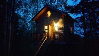 Treehouse with Bathroom