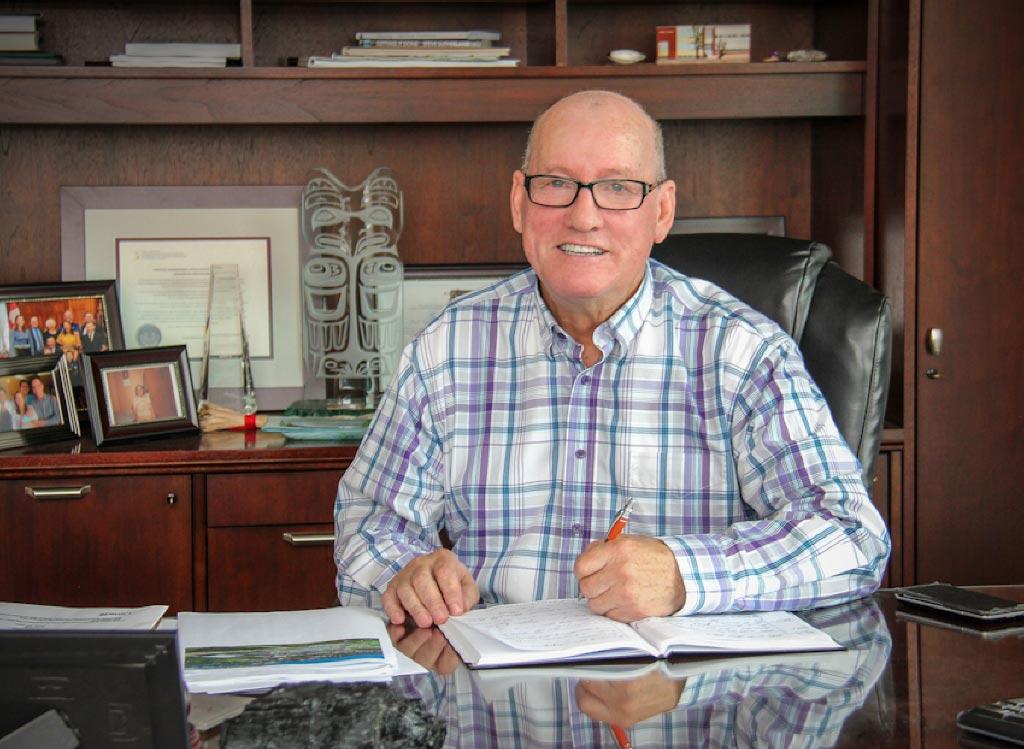 Membertou Chief Terry Paul