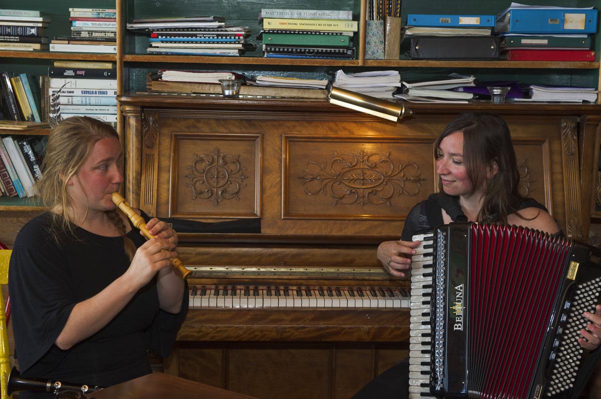 Acadian music Magdalen Islands, Quebec, Canada