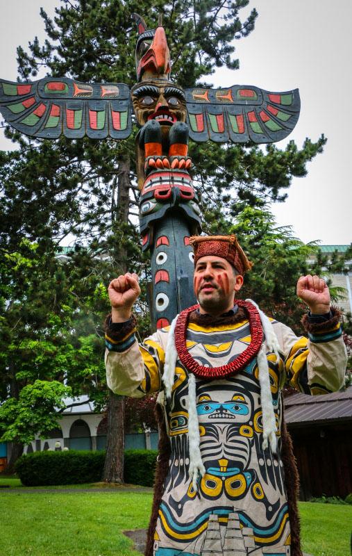 Andy Everson aboriginal cultural
