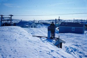 Rankin Inlet winter 1968