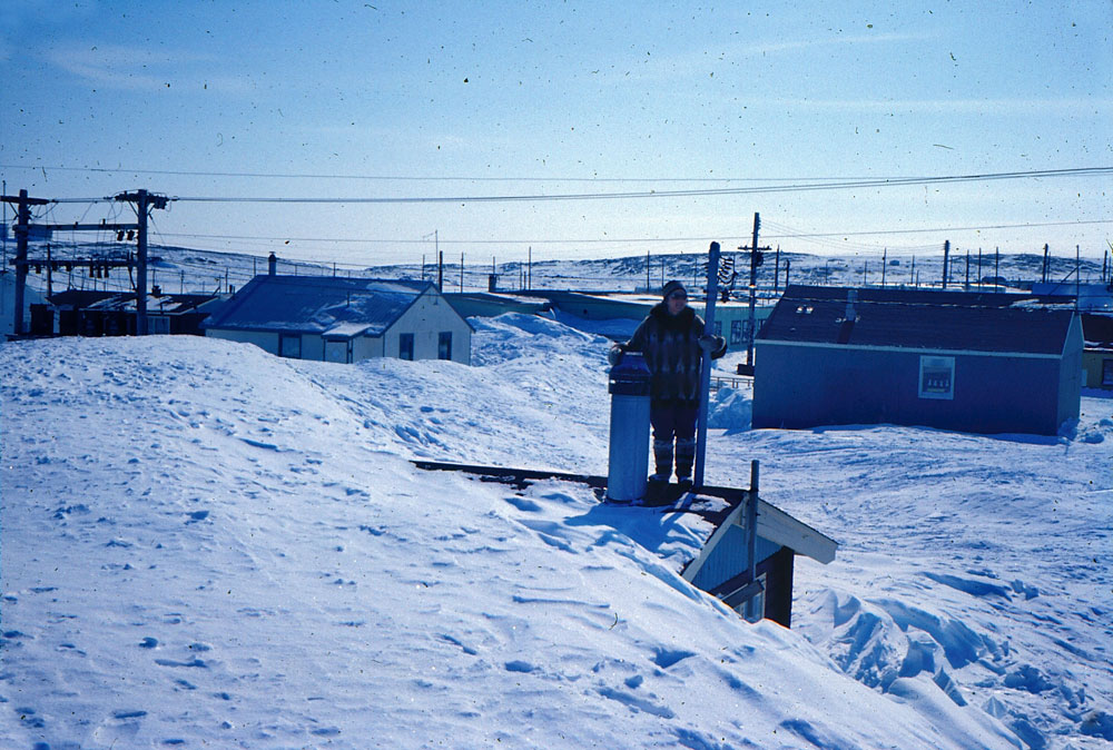 Rankin Inlet winter 1968