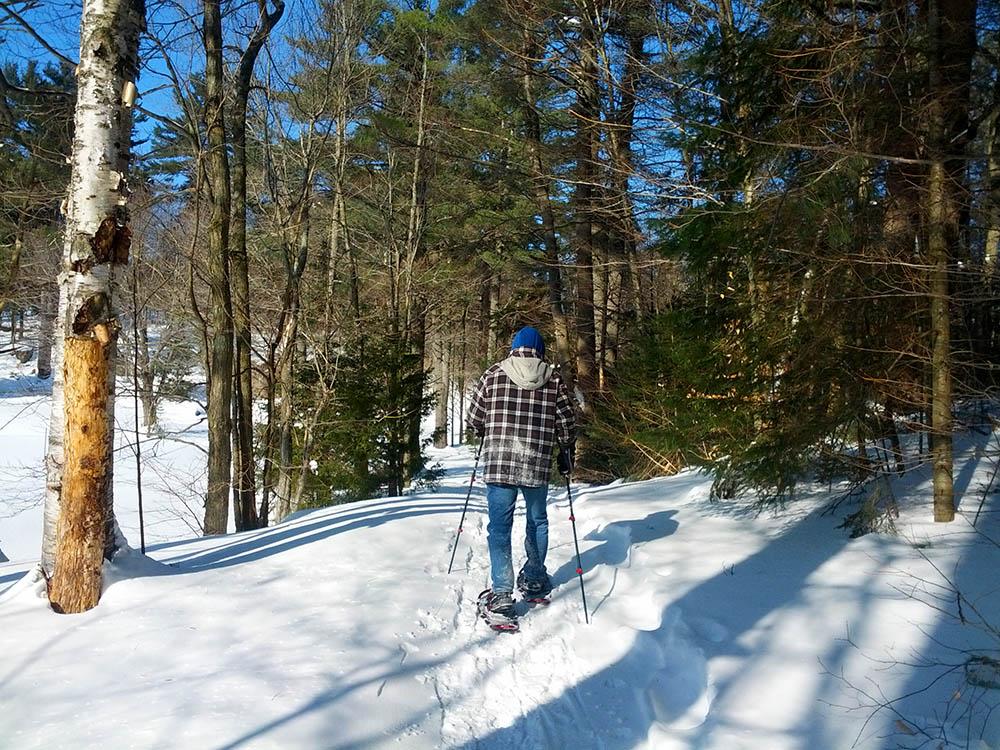 The Land Between in winter