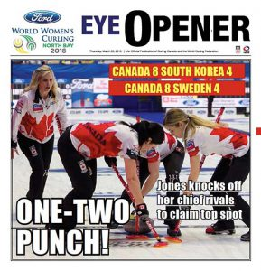 2018 Ford World Women's Curling Championship, North Bay, Ontario
