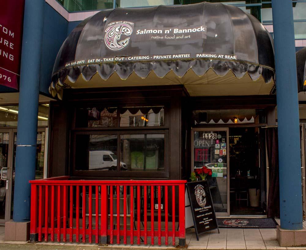 aboriginal food restaurants in B.C.