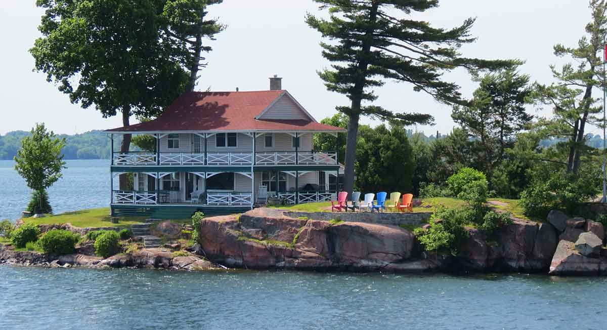 1000 Islands house Ganonoque Charlie Donevan