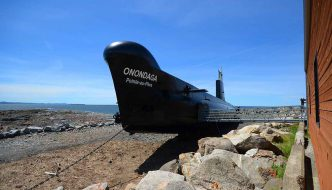 HMCS Onondaga – Cold-War submarine saved from scrap yard