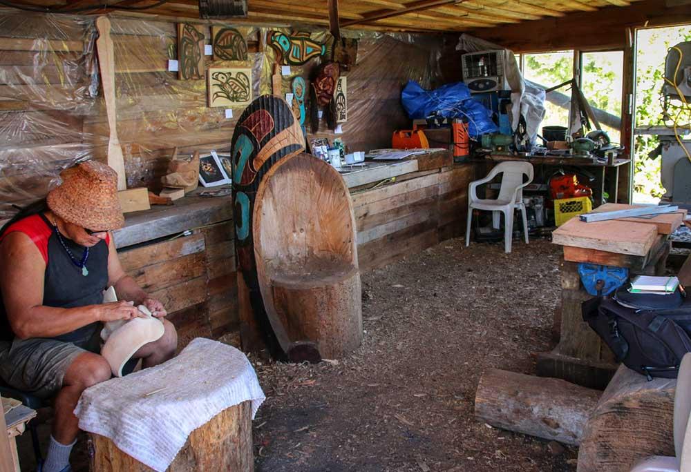 Yuquot Master carver Sanford William