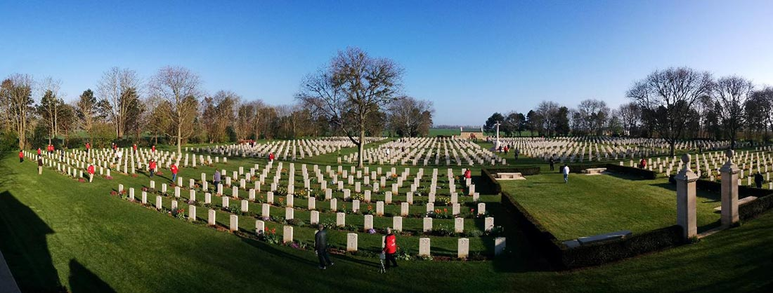 Canadian war cemetery near Beny-sur-Mer France - Remembrance Day - A Century of Remembrance in Canada