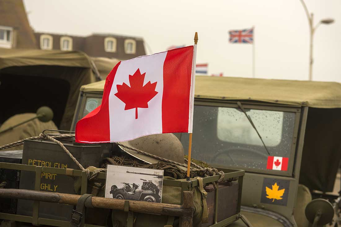 Remembrance Day Jeep