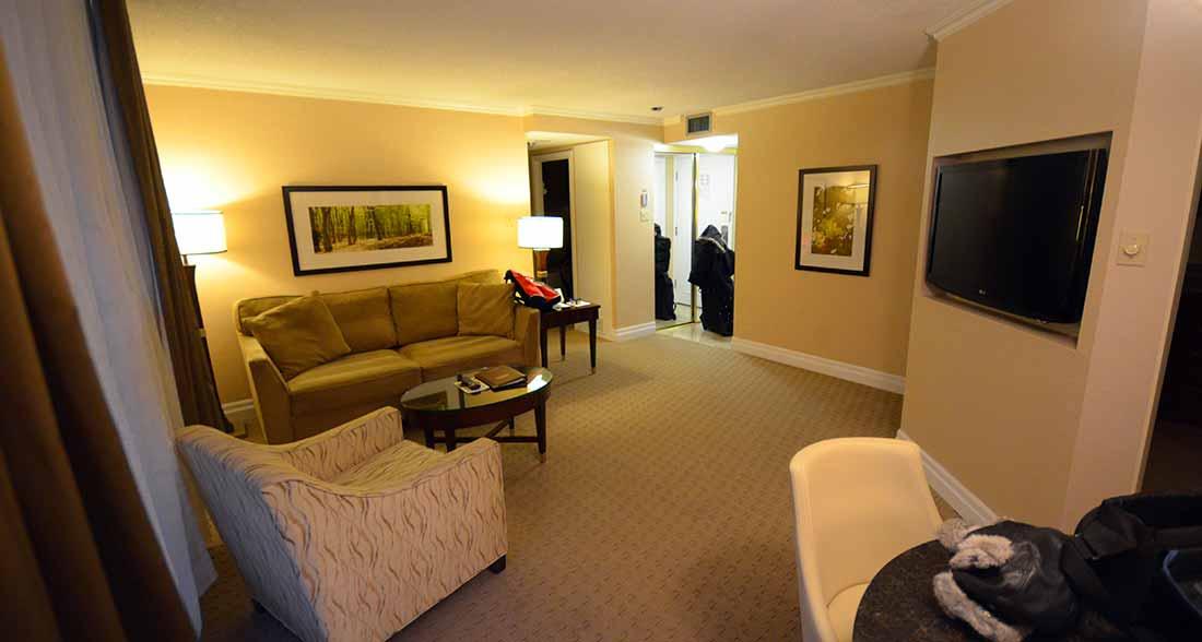 Albert At Bay Hotel suite in Ottawa