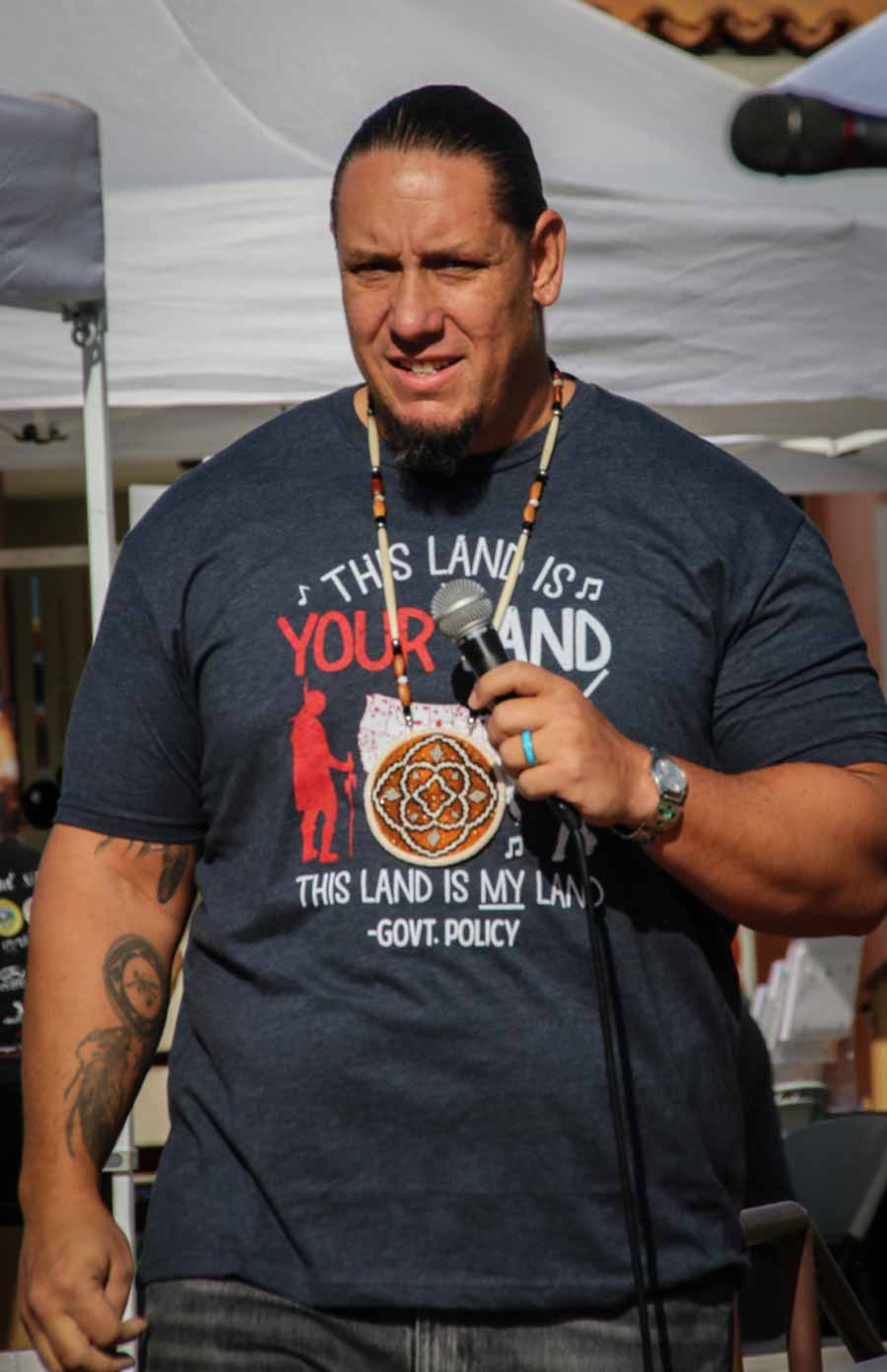 Agua Caliente Band-Tribal Chairman (Chief) Jeff Grubbe
