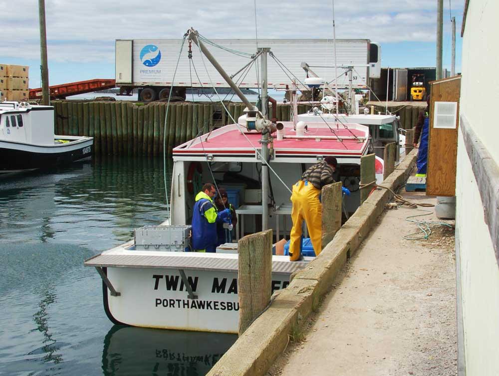 Cape Breton fishing boat Premium Seafoods