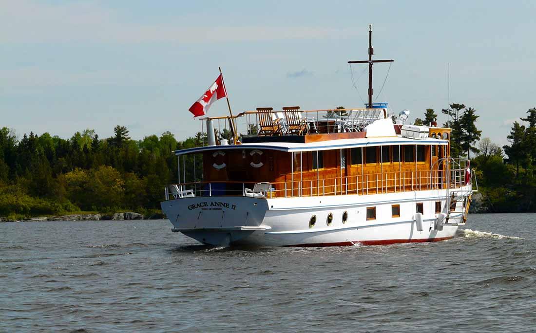 Grace Anne 2 antique boat