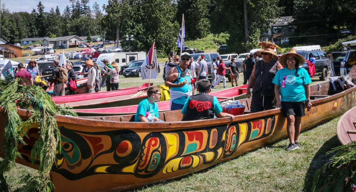 Paddle to Lummi Tribal Canoe Journey