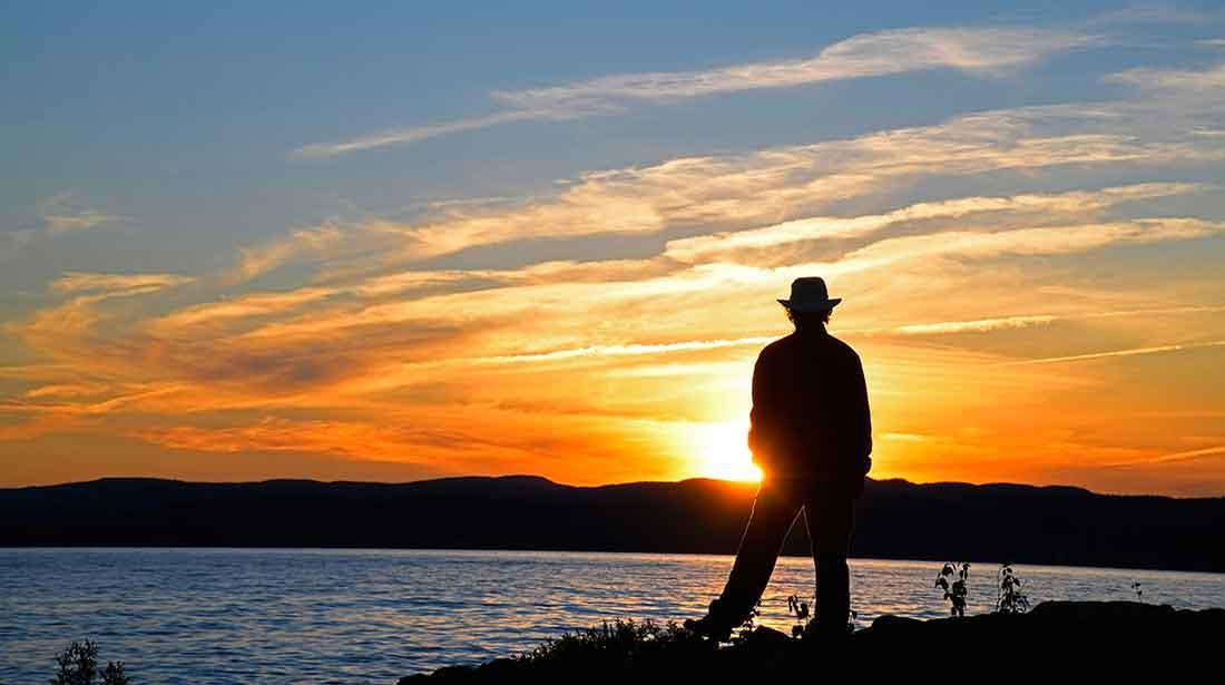 wawa ontario lake superior sunset