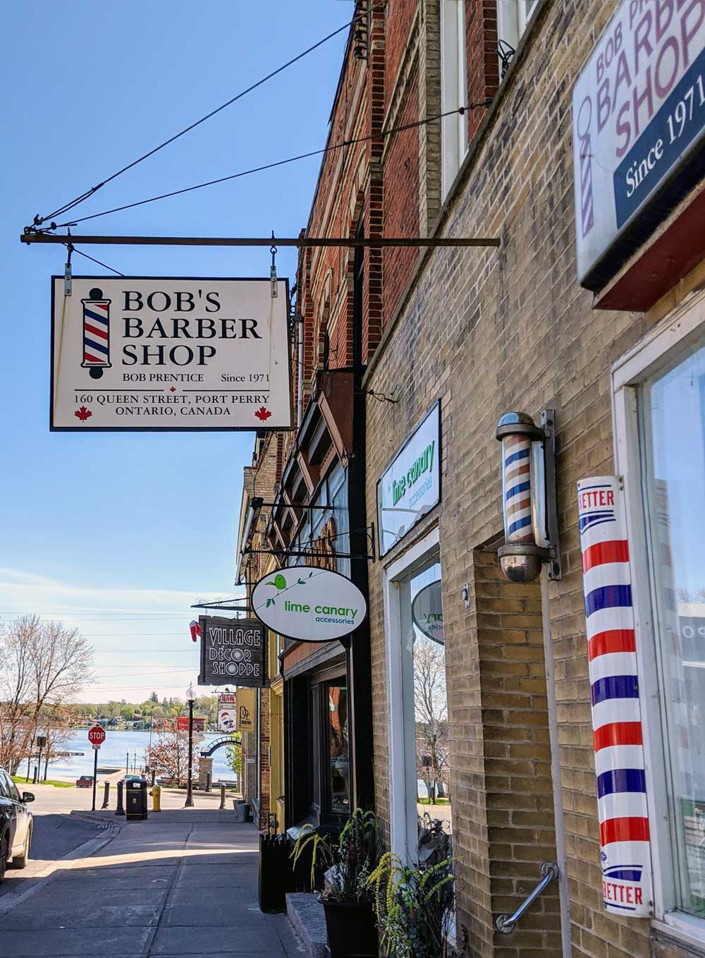 Bob's Barber Shop, Port Perry, Ontario