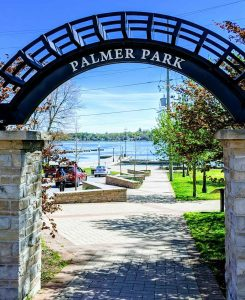 Palmer Park in Port Perry, Ontario