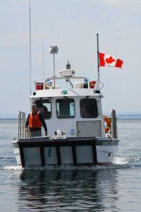 Mingan Archipelago National Park Reserve - Parks Canada Vessel