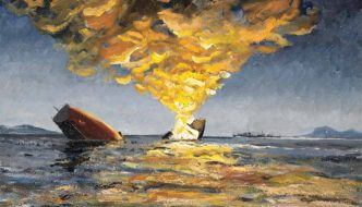 Sinking of the HMS Eclipse