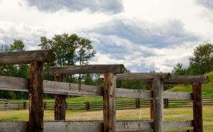 fencing at Bar U Ranch National Historic Site