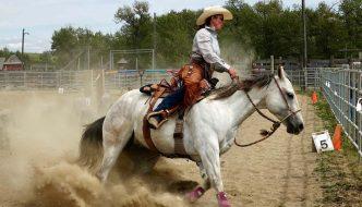 Lipstick and True Grit at Bar U Ranch